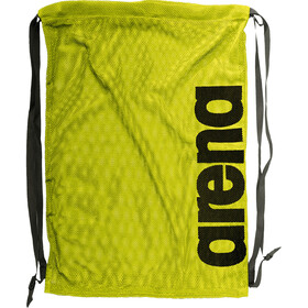 arena Fast Mesh Sports Bag fluo yellow-black